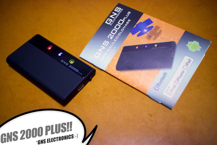 GNS 2000 Plus+SIMなしiPhoneとかで魚探の補完!?外付けGPSを購入!【GNS Electronics】